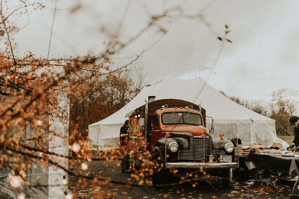 maine wedding catering company fire and company wood fired catering open fire cooking new england catering company