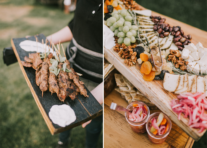 maine wedding catering company fire and company maine event catering wood-fired appetizers