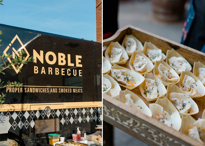 maine wedding and event catering company noble barbecue by fire and company portland maine popup dinner