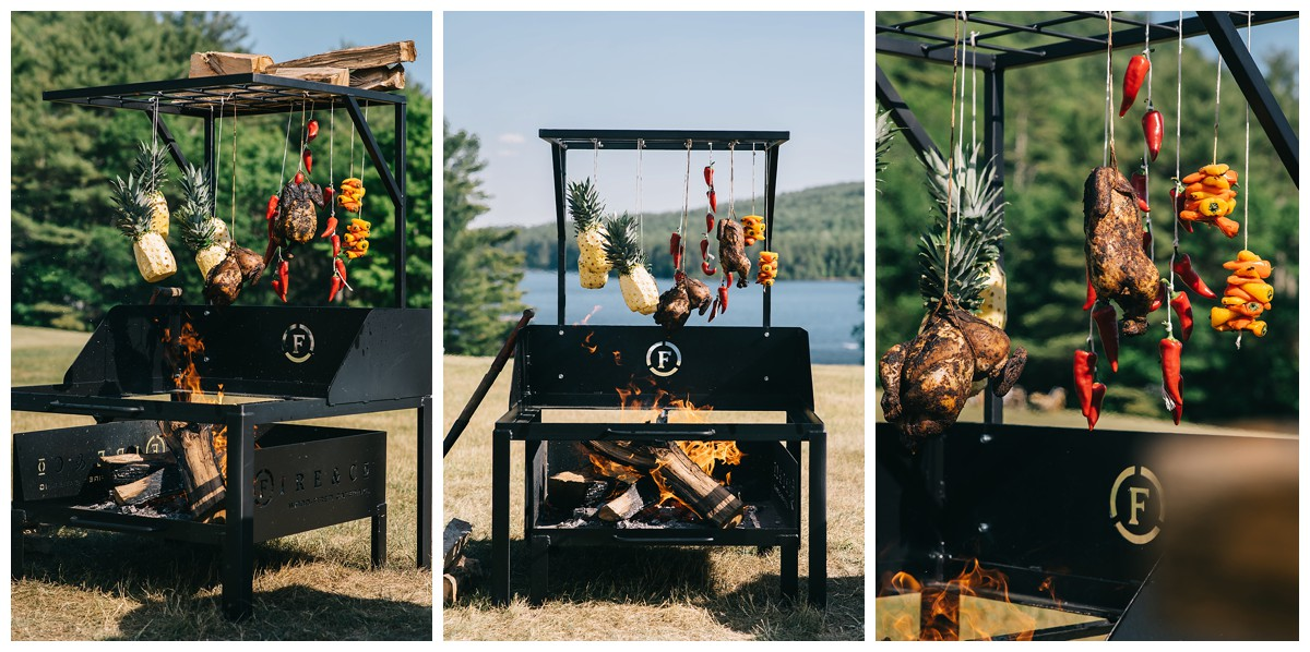 Maine Wedding Catering Inspiration Shoot at Bear Mountain Inn