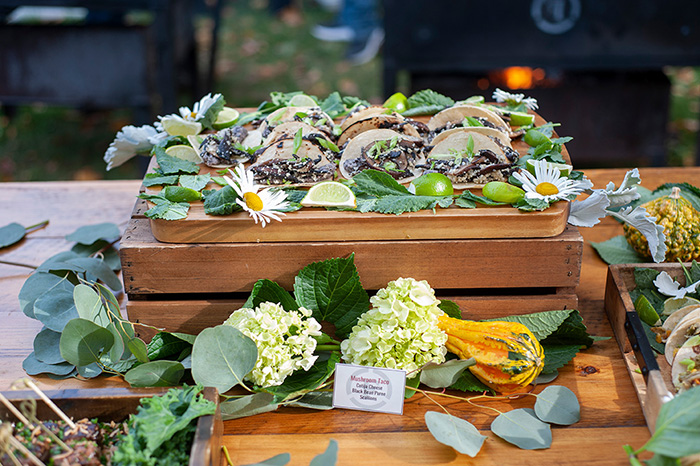 maine wedding catering