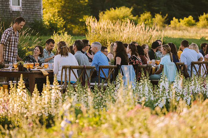 maine wedding and event catering farm to table