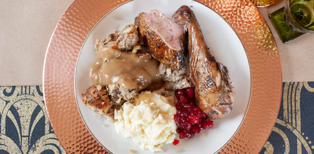 Thanksgiving Pop-Up Menu with Noble Barbecue